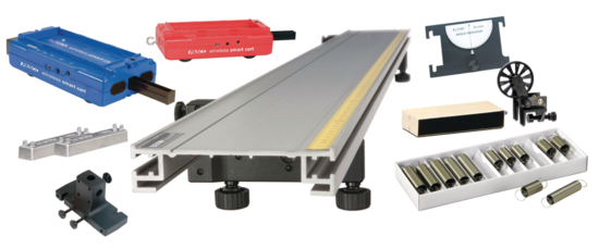Standard Smart Cart Metal Track 2.2 m System <span class=