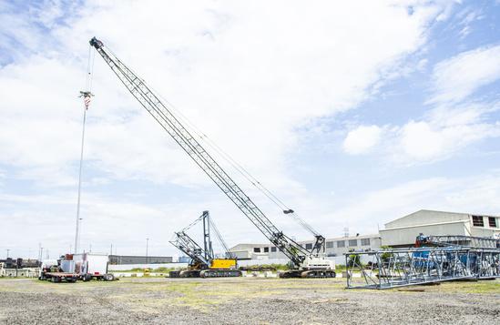 2018 TEREX HC80 Track Crawler Crane
