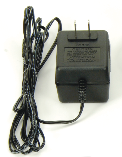 AC Adapter (9 V, 500 mA)