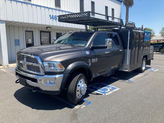2018 Dodge Ram 5500 4x4 Scelzi Work Body Service Truck