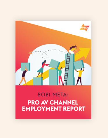 META 2021 Report Cover | AVIXA
