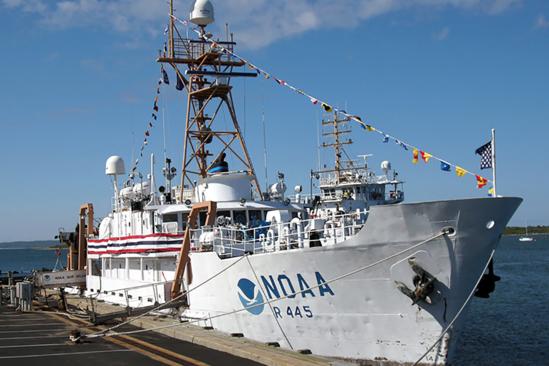 Dockside view of the Delaware II