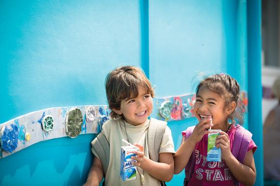 Fonterra Milk for Schools programme