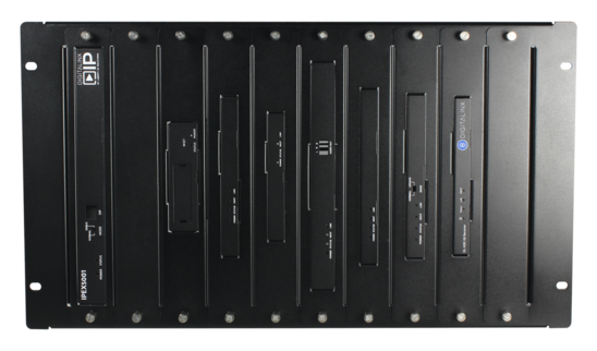 Universal 6U Rack Mount Chassis For Up to 10 Digitalinx or DigitalinxIP Devices