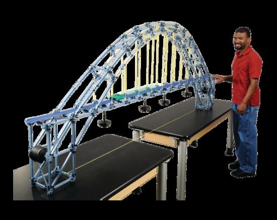 Large Structures Set - Double Tied Arch Bridge