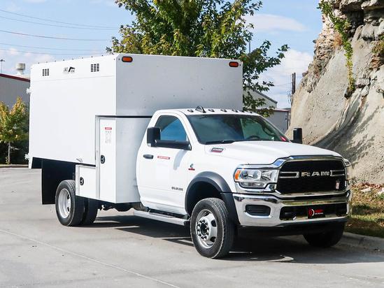 2021 Dodge Ram 5500 4x4 Load King 1166 Chip Truck
