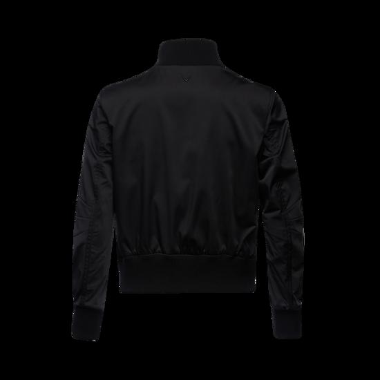 블루종 여성 봄버 자켓