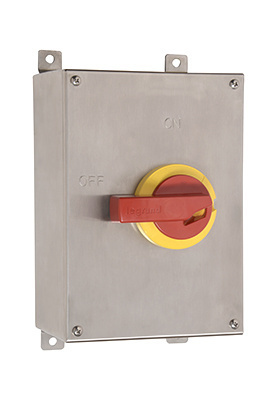 Stainless Steel Safety Switch, 60 Amps