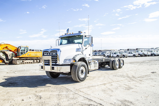 2021 Mack GU813/64BR 6x4 Cab & Chassis