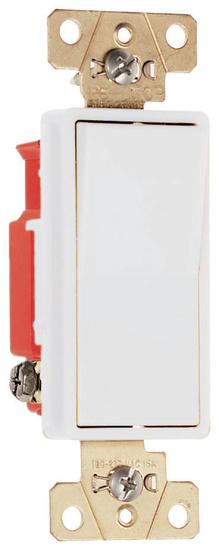 Specification Grade Decorator Switch, White