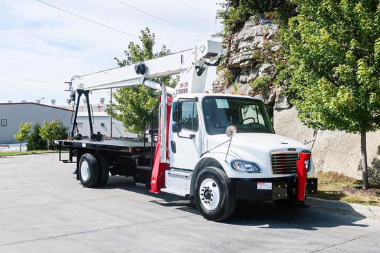2021 Freightliner M2106 4x2 Load King Stinger 19-70 Boom Truck