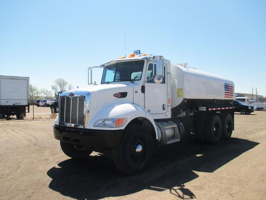 2013 Peterbilt 348 6x4 Water Truck