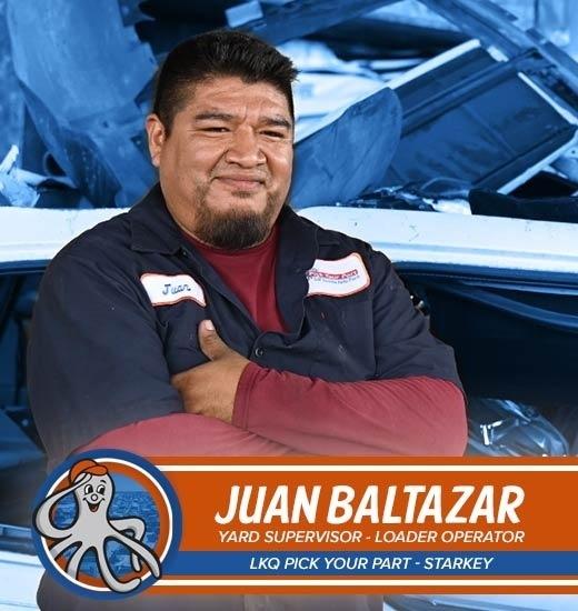Juan Baltazar - Supervisor de patio