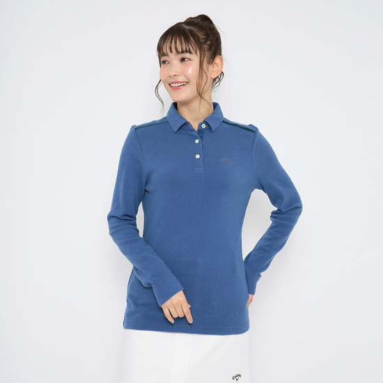 CALLAWAY 吸湿発熱ポンチシャツ (WOMENS)