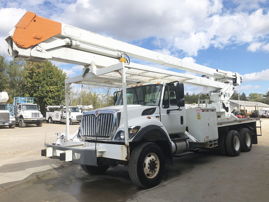 2011 International 7400 6x6 Terex RMX75 Bucket Truck