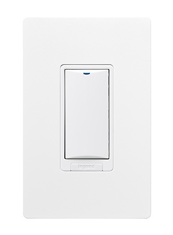 DLM Wireless 1-button Dimming Wall Switch, Lt. Almond