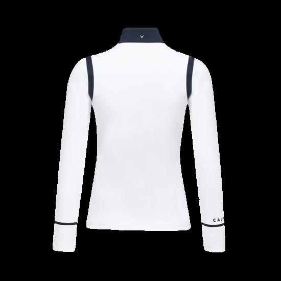컬러 블록 집업 여성 긴팔 티셔츠