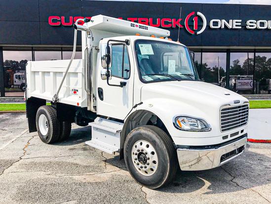 2019 Freightliner M2106 4x2 OX BODIES 10' Maverick Dump Truck