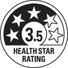 3.5 health star ratings