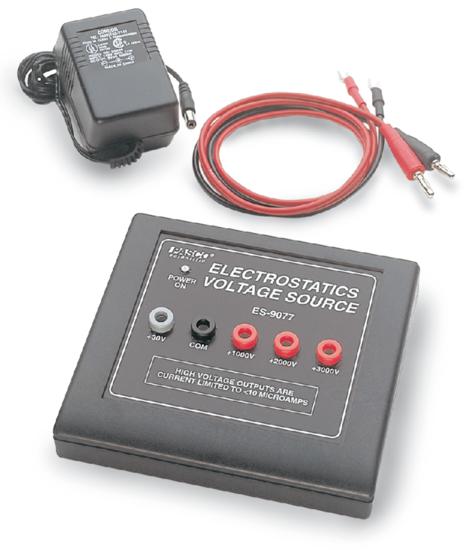 Electrostatics Voltage Source