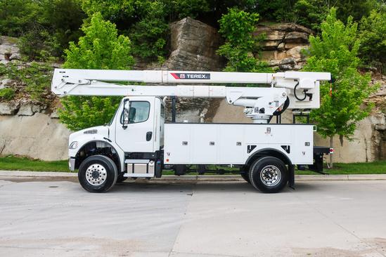 2020 Freightliner M2106 4x4 Terex HRX55 OPTIMA Bucket Truck