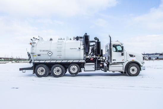 2019 Peterbilt 567 8x4 CUSCO HydroVac Hydrovac Truck