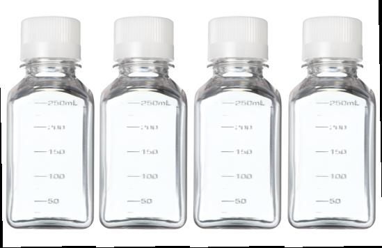 250 mL Sample Bottles (4-pack)