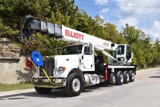 2015 Peterbilt 367 10x6 Elliott 45127R Boom Truck