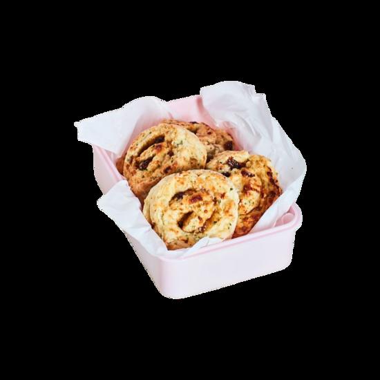 Easy Cheesy Savoury Scrolls