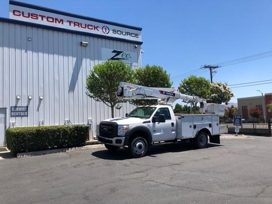 2015 Ford F550 4x2 Terex LT40 Bucket Truck