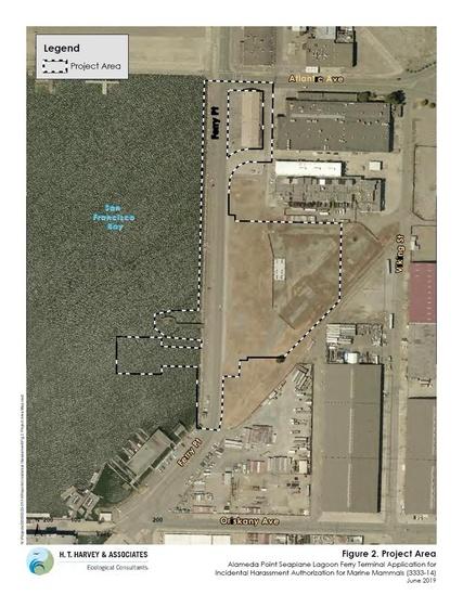 Alameda Seaplane IHA Aerial Overview photo