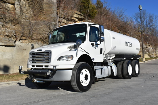 2013 Freightliner M2106 6x4 Load King 4000 Gal Kit Water Truck
