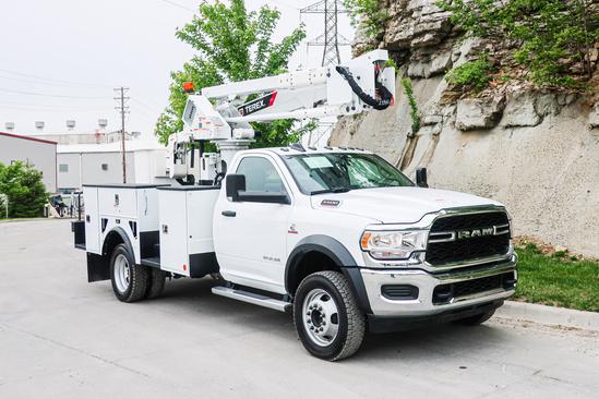 2019 Dodge Ram 5500 4x4 Terex LT40 Bucket Truck