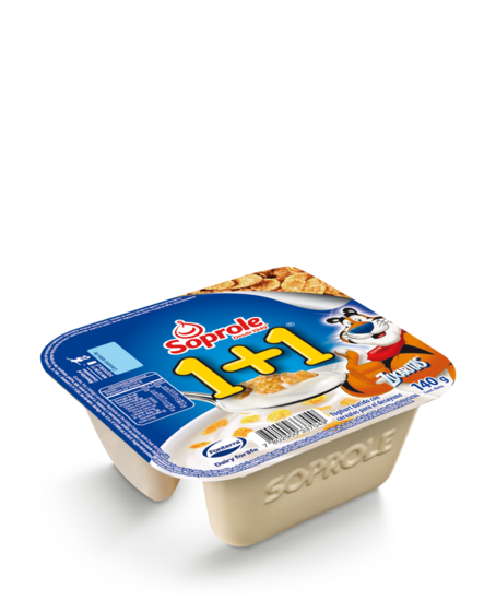 Soprole Yoghurt 1+1 Sin cuchara Zucaritas