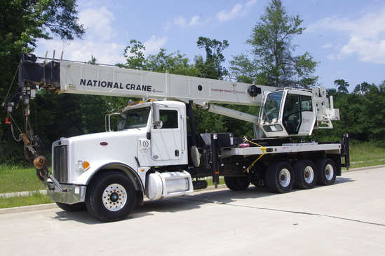 2014 Peterbilt 367 8x6 National NBT50102 Boom Truck