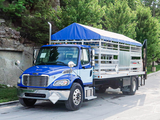 Load King CUS ALTRUNINM3 Propane Cyl. Delivery on 2020 Freightliner M2106 4x2