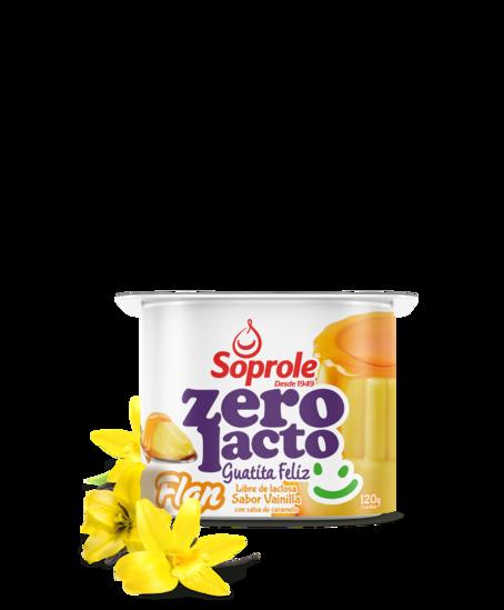 Soprole Flan sabor vainilla con salsa de caramelo