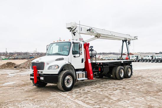 2020 Freightliner M2106 6x4 Load King Stinger 19-70 Boom Truck