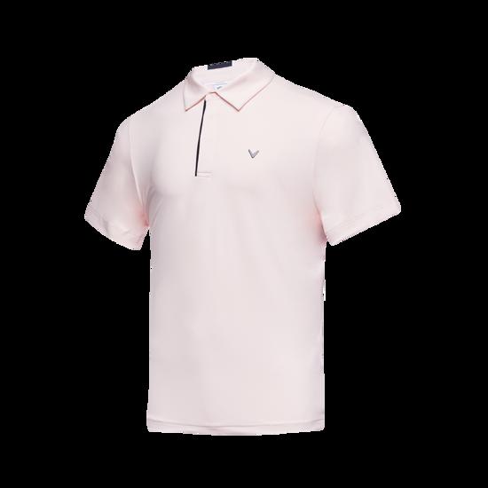 블럭 포인트 남성 반팔 티셔츠