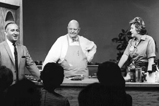 TV appearance of Julia Childs and James Beard