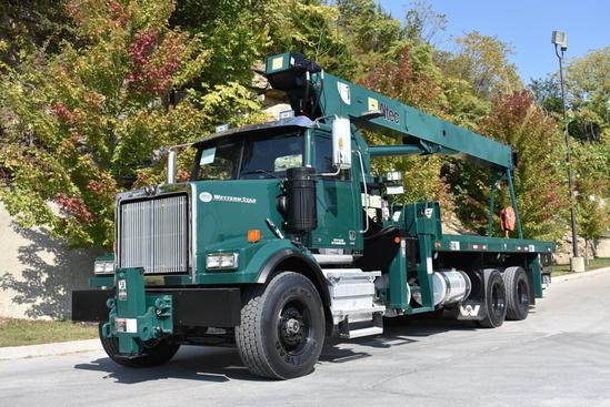 2012 Western Star 4900FA 6x4 Altec AC23-95B Boom Truck
