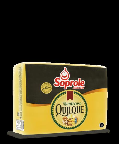 Soprole queso quilque mantecoso pieza 8kg