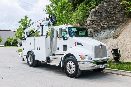 IMT DOM3SIII + 12000 ServiceTruck+Crane on 2021 Kenworth T270 4x2