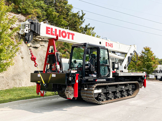 Elliott E145 Track Bucket on 2020 Morooka MST2500VDL Track