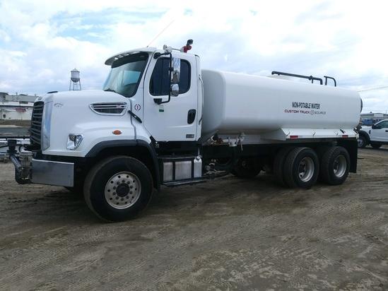 2014 Freightliner 108SD 6x4 McLellan 4000 B3 KIT Water Truck