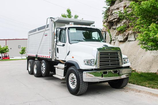 2020 Freightliner 114sd 8x4 Kruz Inc Ravens 16' Adw Dump Truck