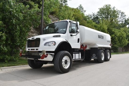 2015 Freightliner M2106 6x6 Water Truck