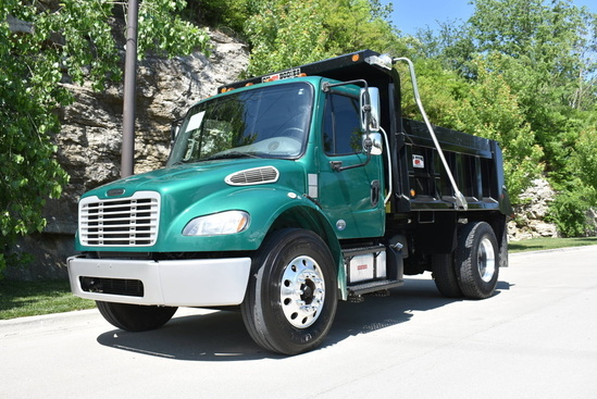 2015 Freightliner M2106 4x2 OX BODIES 10' Maverick Dump Truck