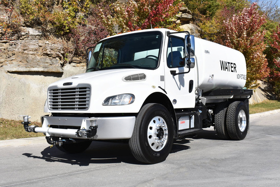 2015 Freightliner M2106 4x2 Load King 2000 Gal Kit Water Truck