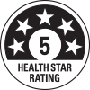 5 health star rating